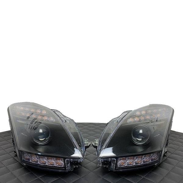 Scheinwerfer-Lackierung - Mercedes SLS AMG GT GT3 Roadster C197 R197