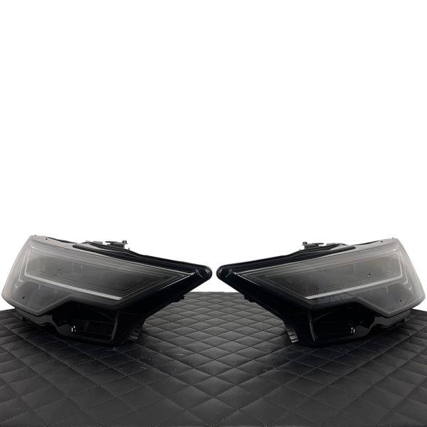 Scheinwerfer-Lackierung - Audi A6 S6 4K C8 - LED Matrix HD-Matrix