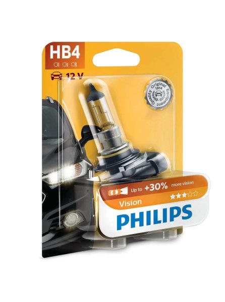HB4 12V 51W P22d Vision +30% 1st. Blister Philips
