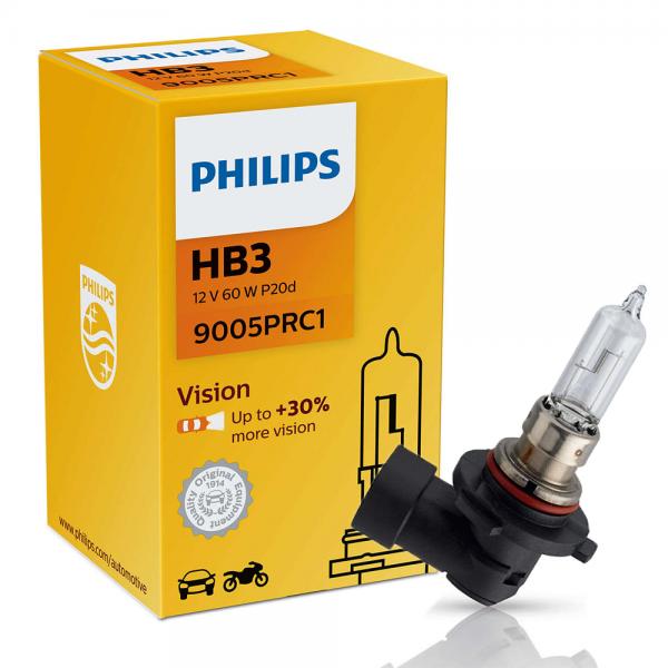 HB3 12V 65W P20d Vision +30% 1st. Philips
