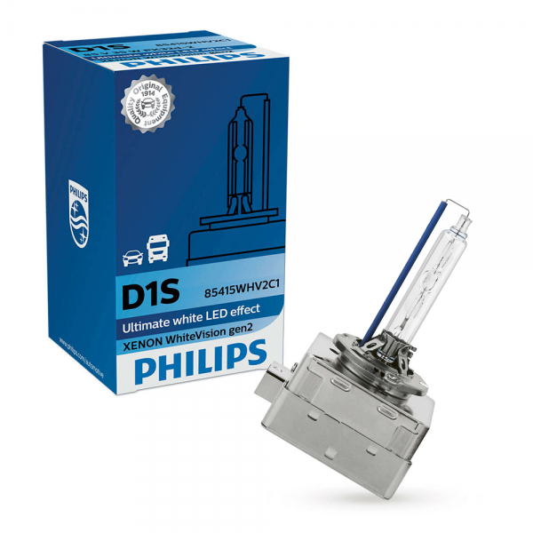 D1S 35W PK32d-2 WhiteVision 5000K Xenon 1st. Philips