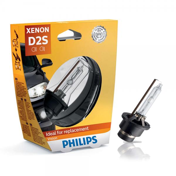 D2S 35W P32d-2 Xenon Vision 1st. Philips