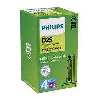 D2S 35W P32d-2 LongerLife 4300K Xenon 1st. Philips