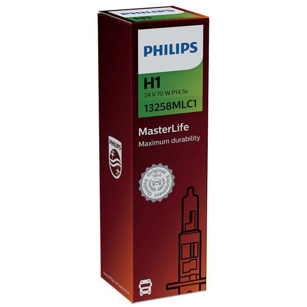 H1 24V 70W P14,5s MasterLife C1 1st. Philips