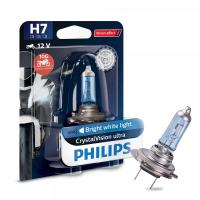 H7 12V 55W PX26d CrystalVision ultra 1st. Blister Philips