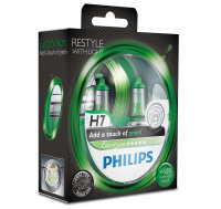 H7 12V 55W PX26d ColorVision green +60% 2st. Philips