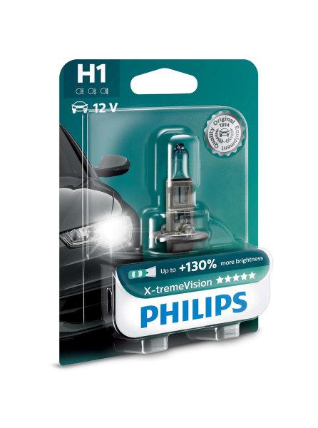 H1 12V 55W  P14,5s X-treme Vision +130% 1st. Blister Philips