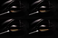 LEDRiving® Dynamische LED Spiegelblinker Audi A4 S4 RS4 B9, Audi A5 S5 RS5 F5 - Black Edition
