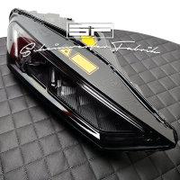 Scheinwerfer-Lackierung - Audi R8 4S - LED Laser - GT LeMans - Schwarz Farbe