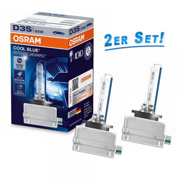 D3S 12V+24V 35W PK32d-5 XENARC COOL BLUE INTENSE Duobox OSRAM