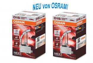 D1S 12/24V 35W PK32D-2 XENARC® NIGHT BREAKER® LASER +200% 2 St. Osram