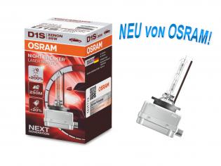 D1S 12/24V PK32D-2 XENARC® NIGHT BREAKER® LASER +200% 1 St. Osram