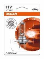 H7 12V 55W PX26d Original Spare Part 1st. Blister Osram