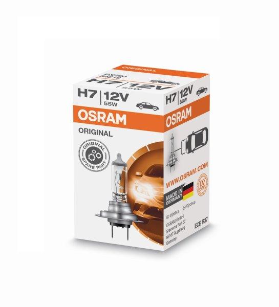 H7 12V 55W PX26d 1st. Original Spare Part Osram