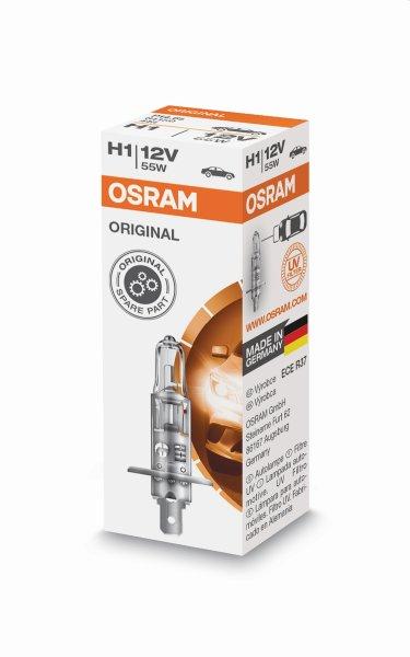 H1 12V 55W P14,5s 1st. Original Spare Part Osram