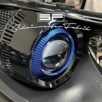 Scheinwerfer-Lackierung - VW Scirocco 13 VFL