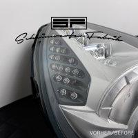 Reparatur - Ferrari California - gebrochene LED-Blinker-Optiken - Defekt 2 Scheinwerfer