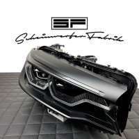 Scheinwerfer-Lackierung - BMW 5er M5 G30 G31 G38 F90 Adaptive LED Laser