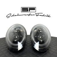 Scheinwerfer-Lackierung - Porsche 911 991.2 LED - Turbo GT2 GT3 RS Targa Carrera GTS