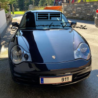 Scheinwerfer-Lackierung - Porsche 911 996.2 - Turbo GT2 GT3 Carrera Targa