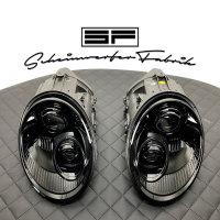 Scheinwerfer-Lackierung - Porsche 911 997.2 - Turbo Carrera GTS GT2 GT3 RS Targa Speedster