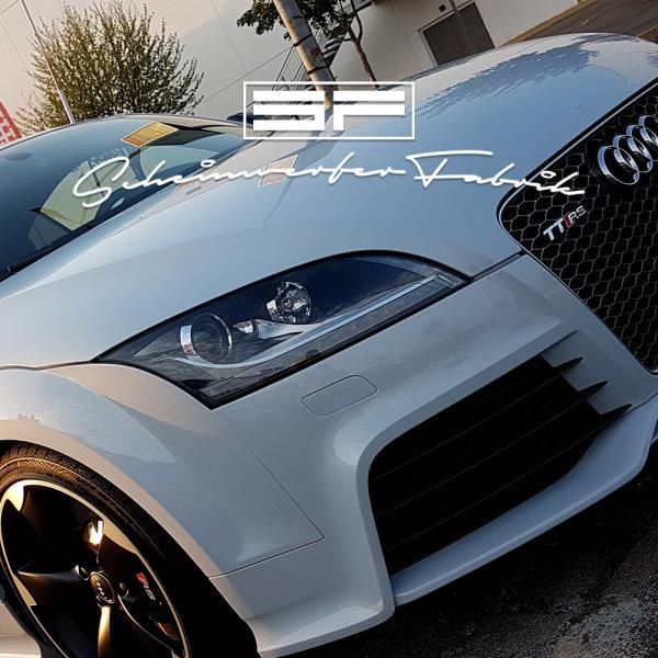 Scheiben Reinigung & Aufbereitung Innen Audi TT TT-S TT-RS 8J