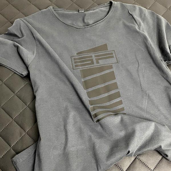 Shirt Grey Wide - ScheinwerferFabrik SF-Stripes