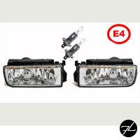 Set Nebelscheinwerfer Klarglas Kristall 91-99 passt für BMW E36 alle Modelle+M