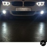 Set LED Nebelscheinwerfer Smoke Schwarz passt für BMW F20 F21 F30 F31 F32 F33 F36