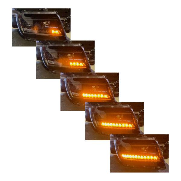 Scheinwerfer-Umbau - Dynamischer LED Blinker - VW Crafter - MAN TGE