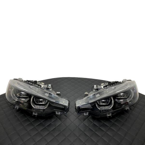 Scheinwerfer-Lackierung - BMW 3er F30 F31 LCI