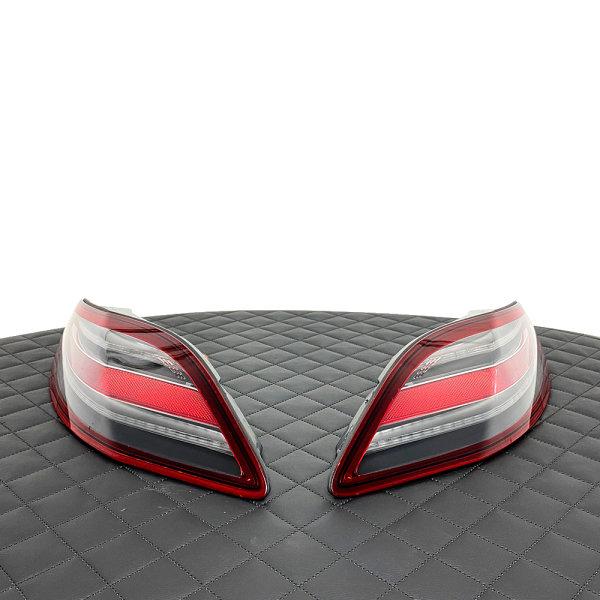 Rückleuchten-Umbau - LED Blinker Rot US auf EU Orange Gelb - Mercedes SLS - AMG C197 R197 Roadster