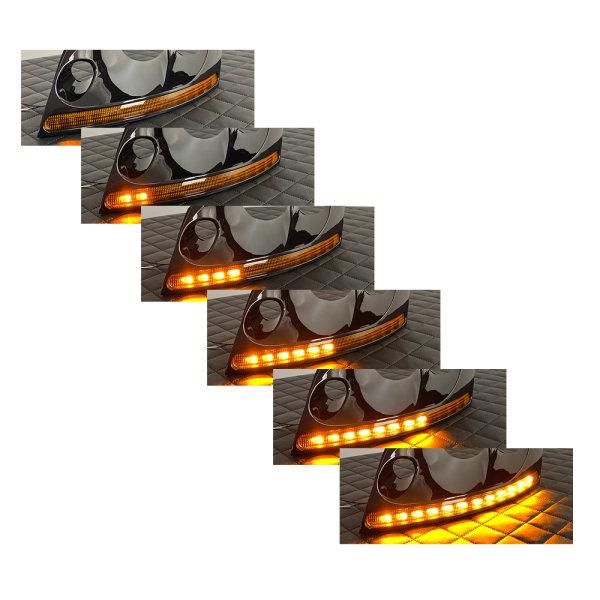 Scheinwerfer-Umbau - Dynamischer LED Blinker - Audi TT 8N Halogen Xenon