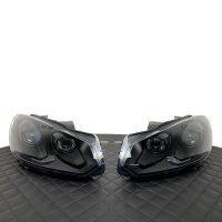 Scheinwerfer-Lackierung - VW Golf 6 - R GTI GTD Schwarz Matt