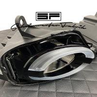 TFL-Scheinwerfer-Lackierung - Fiat 500 Abarth 595 FaceliftTagfahrlicht Fernlicht