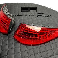 Rückleuchten-Lasur - Porsche 911 997.2 Rot Rücklicht-Lackierung