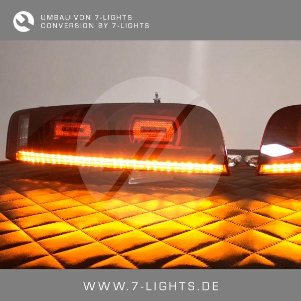 Rückleuchten-Umbau - LED Blinker Rot US auf EU Orange Gelb - Audi R8 Typ 42 - Spyder V10 V8