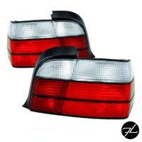 Rückleuchten Set Rot-Weiss passend für BMW E36...