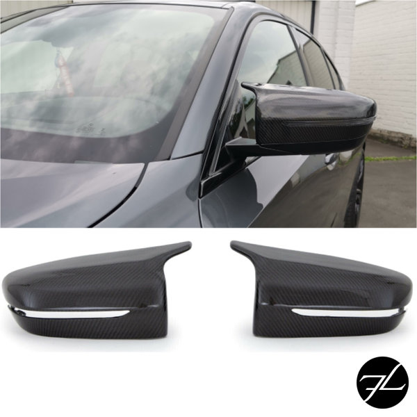 Set Spiegelkappen Original Carbon hochglanz passt für BMW 3er G20 G21 auch Performance M3