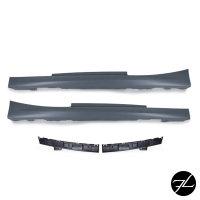 Sport Seitenschweller Set grundiert passt für BMW 1er F21 2er F22 F23 auch M-Paket